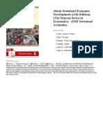 Economic Development 11th