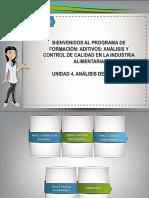 Análisis y Control de Calidad en la Industria Alimentaria