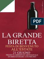 Birradamare - La Grande Biretta 2014
