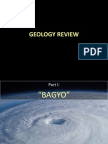 """Geology Reviewer on """"Bagyo and Earthquakes"""""""