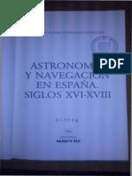 Astronomía y Navegación en España - Siglos XVI-XVIII Página 139 a 206