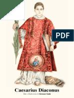 """La vita di San Cesario diacono e martire, """"Caesarius Diaconus"""" testi e illustrazioni di Giovanni Guida"""