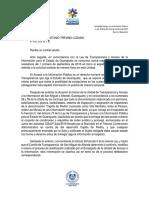 Niega Unidad de Transparencia información sobre Capilla de Piedra