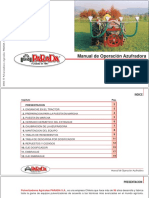 Manual de operación de azufradoras