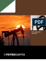 Petrocapita August 2010 Update
