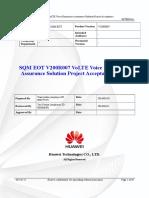 SQM_EOT_V200R007_Acceptance_Guide_(VoLTE_Voice_Experience_Assurance_Solution).doc