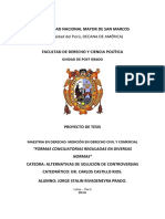 Universidad Nacional Mayor de San Marcos - Formas Conciliatorias Reguladas en Diversas Normas