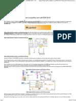 Leer Datos de Un Excel y Generar Una Grafica Con LabVIEW 2010