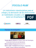 10. Protocolo Rubí. Instrumento Multidisciplinar Marta Codina Nuria Lladó