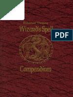 Wizards Spell Compendium Volume 3