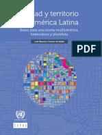 Ciudad y territorio en América Latina