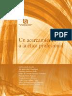 ACERCAMIENTO Etica Profesional Libro Ética 2016 Filosofía