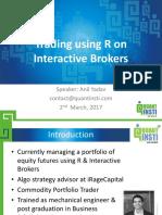 2017 WB 2633 QuantInsti TradingusingRonInteractiveBrokers