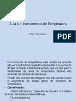 Aula4.InstrumentosdeTemperatura