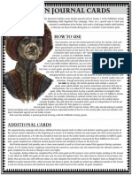 Faction Journal Cards - Season 7