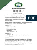 Clearwater Evacuation Alert