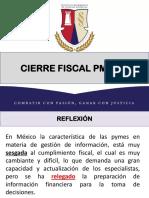 Cierre Fiscal PM 2015
