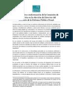 Análisis de la FMM en relación con el estancado proceso de selección de candidatos a Director del IDPP