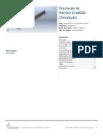 W610x101x8000 (Simulação)-Análise Estática 1-1
