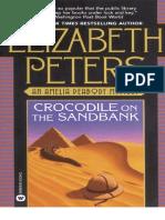 Crocodile on the Sandbank Amelia Peabody