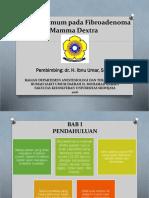 Anestesi Umum Pada Fibroadenoma Mamma Dextra