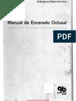 Manual Encerado Oclusal