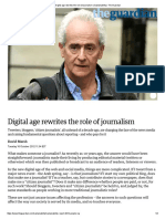 Digital Age Rewrites the Role of Journalism _ Sustainability _ the Guardian
