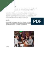 Informe De Ingeniería Del Plan Emprendedor Del Estudio Técnico