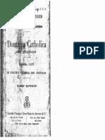 Boulenger - Doutrina Católica. Parte 1. O Dogma