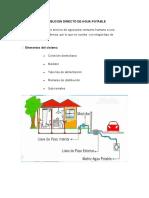 Sistema de Distribucion Directo de Agua Potable