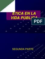 Etica en La Funcion Publica