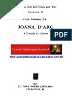 Pe. José Bernard - Sta. Joana D'Arc