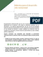 Una ruta didactica para el desarrollo del pensamiento variacional.pdf