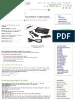 70W Universal Laptop AC Adapter