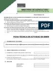 Ficha Tec Actividad Emergencia - Min Agri