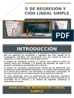 Análisis de Regresión y Correlación Lineal Simple Diapos