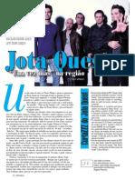 Reportagem Jota Quest - Revista ZZZ