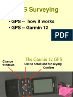 Ben Gps Survey