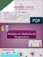 Métodos de Medición de Temperatura