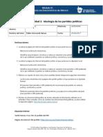 MIII-U2- Actividad 2. Ideología de Los Partidos Políticos