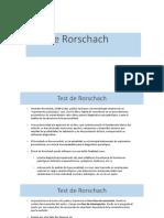 Test de Roschar