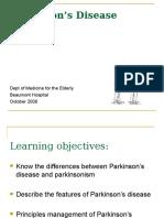 5 Parkinsons Disease