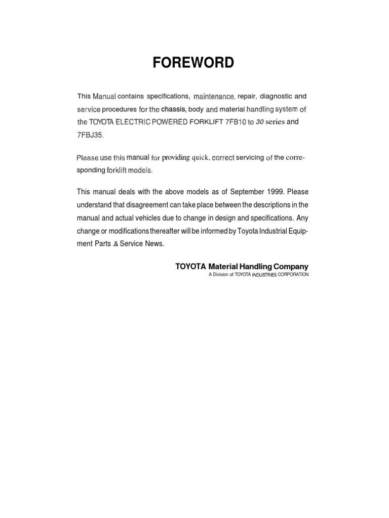 Toyota 7fb Ngoi Laipdf Screw Analogue Electronics Electric Forklift Wiring Diagrams