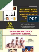 Estudio de Dislipidemias Por Electroforesis