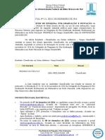 EDITAL (PROPP-RTR) n 121, de 02-12-2016.