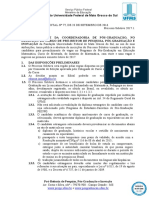 EDITAL (PROPP-RTR) n 77, de 28-09-2016.