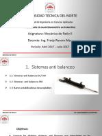 Sistemas AntibalanceoDENNIS TAYAN - G6