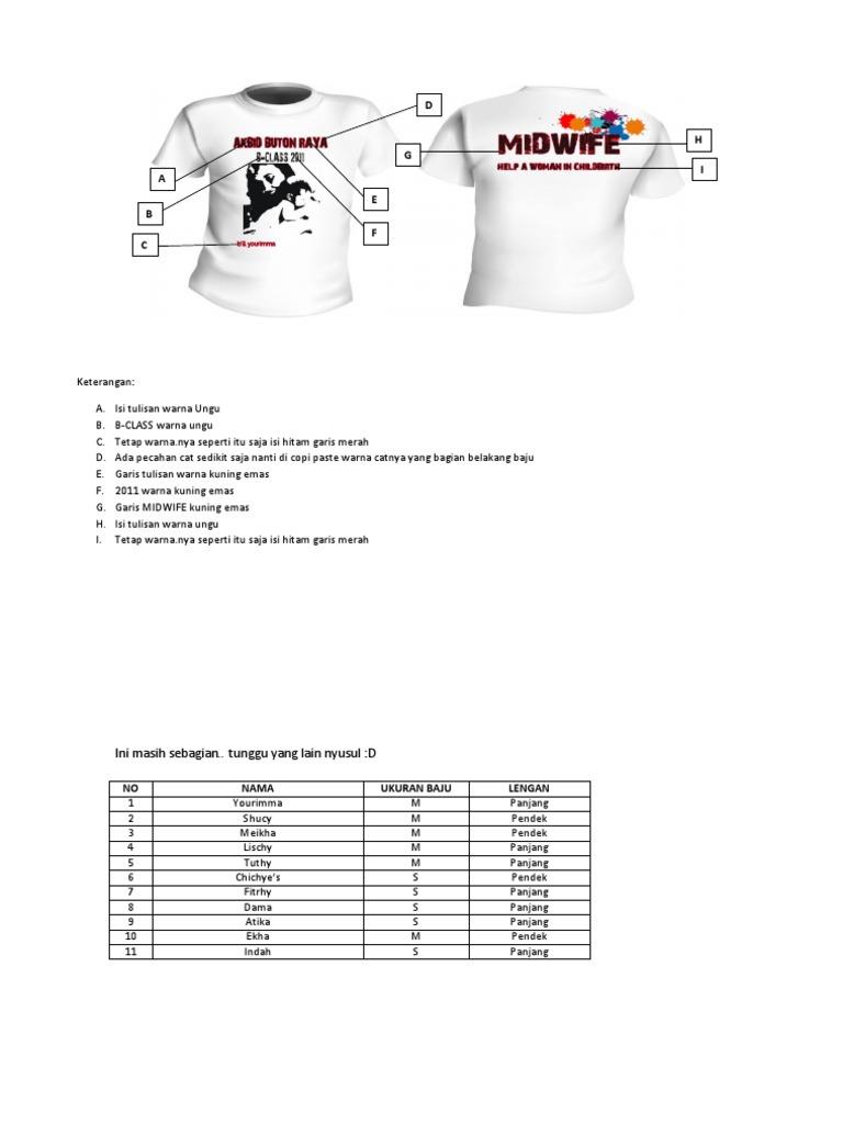 Contoh desain baju akbid ccuart Gallery