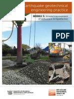 Ground Improvement of Soils Prone to Liquefaction