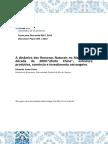 A Dinâmica Dos Recursos Naturais No Mercosul